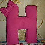 Мягкие Буквы Подушки на заказ Дарья (piter-ozerki) - Ярмарка Мастеров - ручная работа, handmade