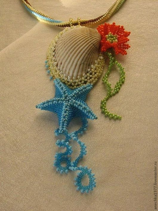 Кулоны, подвески ручной работы. Ярмарка Мастеров - ручная работа. Купить Ракушка. Handmade. Ракушка, морская звезда, море