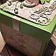 Персональные подарки ручной работы. коробочка для денег. Дарья Битюцкова (Dolly-shop). Интернет-магазин Ярмарка Мастеров. бумага