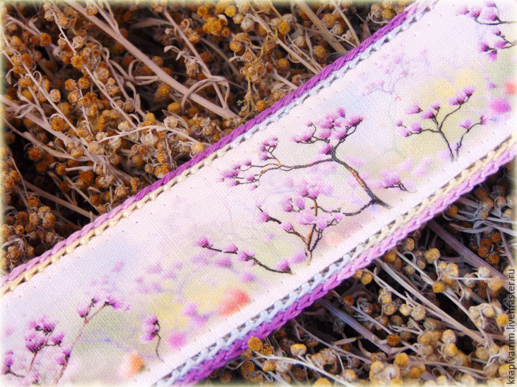 Bracelet from nettles Sakura Color, Bead bracelet, Orel,  Фото №1