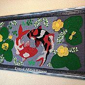 Картины и панно handmade. Livemaster - original item Knitted painting