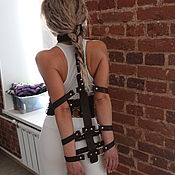 Субкультуры handmade. Livemaster - original item BDSM collar and handcuffs set. Handmade.