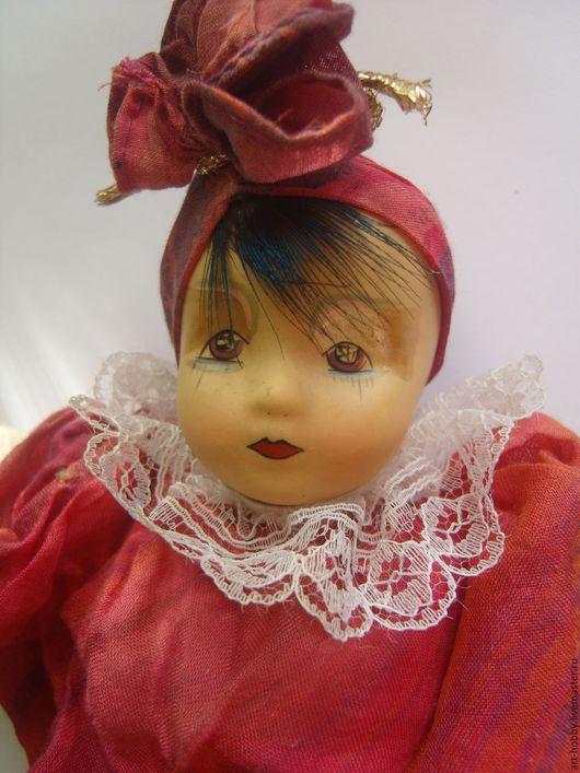 Винтажные куклы и игрушки. Ярмарка Мастеров - ручная работа. Купить Кукла клоун. Handmade. Кукла, Композит