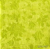 Материалы для творчества handmade. Livemaster - original item napkin for decoupage green summer. Handmade.