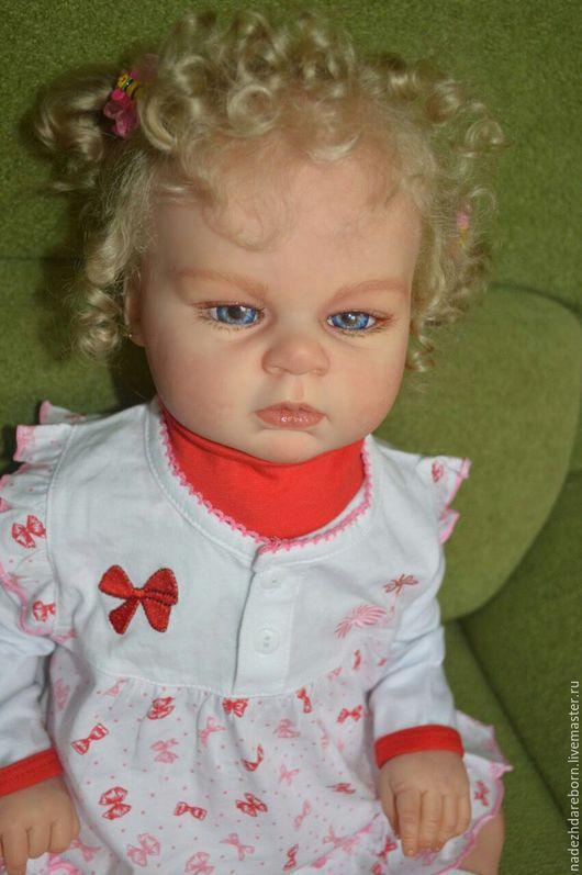 Куклы-младенцы и reborn ручной работы. Ярмарка Мастеров - ручная работа. Купить Кукла Мая из одноименного молда от Ревы Шик. Handmade.