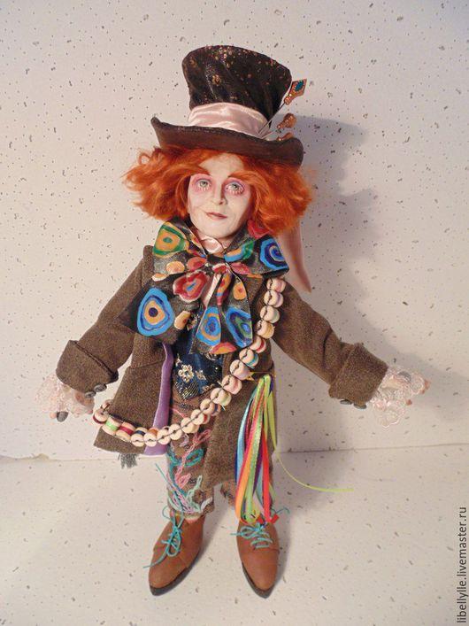Коллекционные куклы ручной работы. Ярмарка Мастеров - ручная работа. Купить Безумный Шляпник. Handmade. Комбинированный, подарок