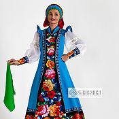 Одежда handmade. Livemaster - original item Russian folk costume