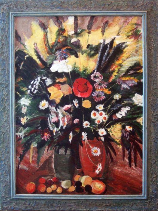 """Репродукции ручной работы. Ярмарка Мастеров - ручная работа. Купить Сарьян """"Цветы Севана"""". Handmade. Сарьян, цветы, букет"""