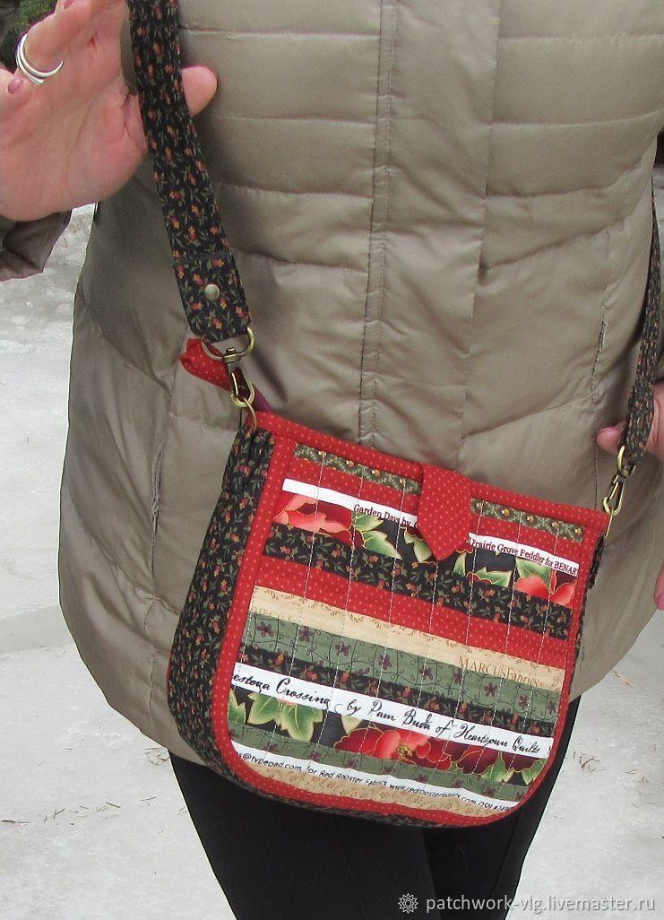 Женские сумки ручной работы. Ярмарка Мастеров - ручная работа. Купить Сумка лоскутная 'Позитив'. Handmade. Подарок, подарок женщине