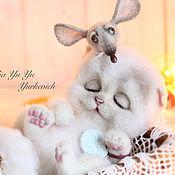 Куклы и игрушки ручной работы. Ярмарка Мастеров - ручная работа Котенок Шанти. Handmade.