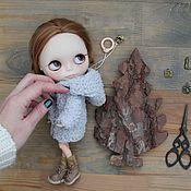 Куклы и игрушки ручной работы. Ярмарка Мастеров - ручная работа Шубка с капюшоном для Блайз. Handmade.