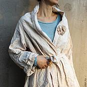 Одежда ручной работы. Ярмарка Мастеров - ручная работа Льняной жакет. Handmade.