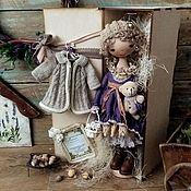 Куклы и игрушки ручной работы. Ярмарка Мастеров - ручная работа Куклы. Селин.Текстильная кукла. Бохо стиль. Handmade.