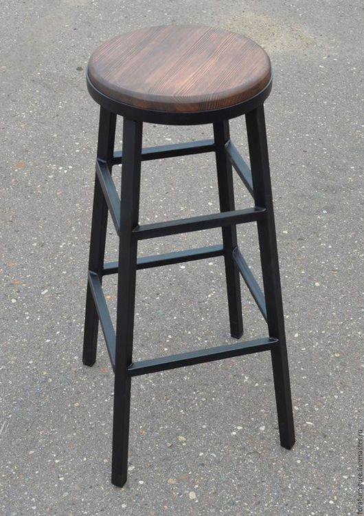 Мебель ручной работы. Ярмарка Мастеров - ручная работа. Купить Стул барный Model P. Handmade. Барный стул, loft
