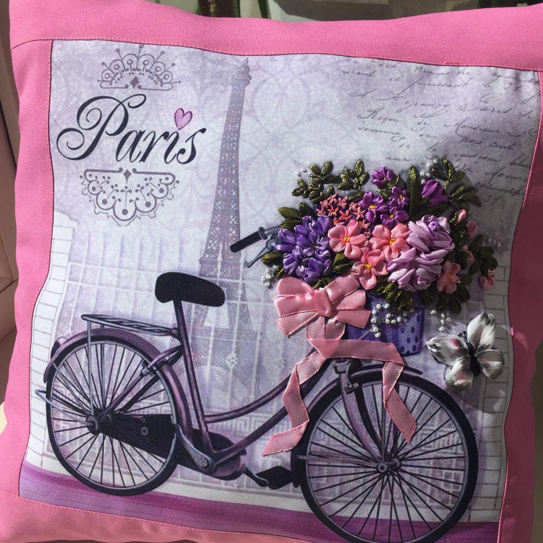 Подушки «Прованс. Париж  в розовом цвете», Подушки, Астрахань,  Фото №1
