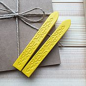 Скотч ручной работы. Ярмарка Мастеров - ручная работа Сургуч без фитиля (жёлтый). Handmade.