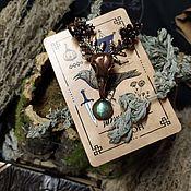 Фен-шуй и эзотерика handmade. Livemaster - original item The spirit helper the Raven with Algiz. Handmade.