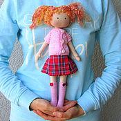 Куклы и игрушки ручной работы. Ярмарка Мастеров - ручная работа Кукла со сменной одеждой. Тряпичная Кукла. Текстильная Кукла. (3). Handmade.