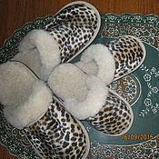 """Обувь ручной работы. Ярмарка Мастеров - ручная работа Тапочки """" Тигрята"""". Handmade."""
