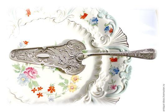 Винтажная посуда. Ярмарка Мастеров - ручная работа. Купить 1900 - 1920 WMF Германия. Ар-нуво. Лопатка для торта. Серебрение. Handmade.