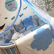Сказочный комплект в кроватку для малышей