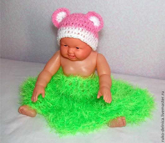 Для новорожденных, ручной работы. Ярмарка Мастеров - ручная работа. Купить шапочка для фотосессии новорожденных (фотосессия шапка реквизит). Handmade.
