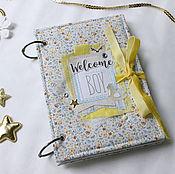 Подарки к праздникам handmade. Livemaster - original item Diary for mom baby
