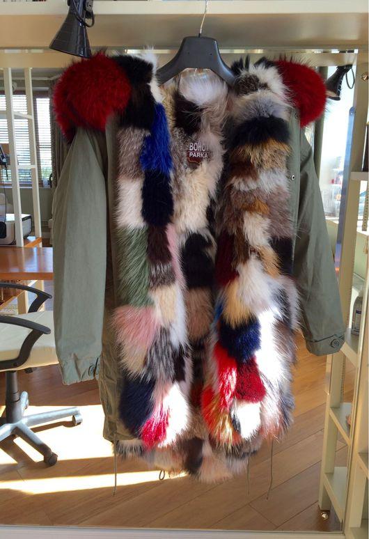 Верхняя одежда ручной работы. Ярмарка Мастеров - ручная работа. Купить Куртка парка с капюшоном. Handmade. Парка, куртка с капюшоном