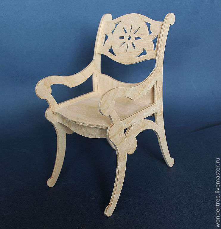 chair for dolls, Doll furniture, Chelyabinsk,  Фото №1