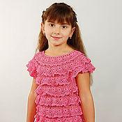 """Работы для детей, ручной работы. Ярмарка Мастеров - ручная работа Платье """"Розовое настроение"""". Handmade."""