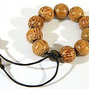 Фен-шуй и эзотерика handmade. Livemaster - original item Rosary Beads earthy coconut.. Handmade.