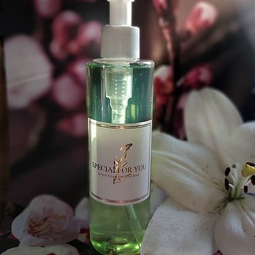 Cosmetics handmade. Livemaster - original item WASH GEL FOR COMBINATION AND OILY SKIN