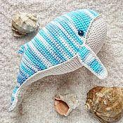 Куклы и игрушки ручной работы. Ярмарка Мастеров - ручная работа Игрушка Вязаный кит. Handmade.