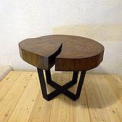 Для дома и интерьера ручной работы. Ярмарка Мастеров - ручная работа Стол из спила Липы / Лофт Эко мебель. Handmade.