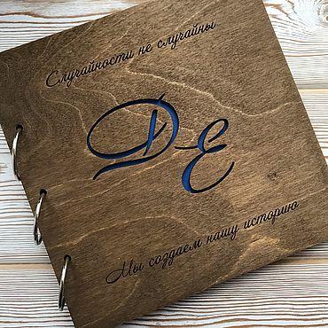 Свадебный салон ручной работы. Ярмарка Мастеров - ручная работа Альбом для пожеланий  - Альбом для фотографий - Книга пожеланий. Handmade.