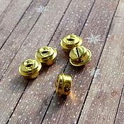 Материалы для творчества ручной работы. Ярмарка Мастеров - ручная работа Бубенчик 23-312 золотой 20 мм. Handmade.