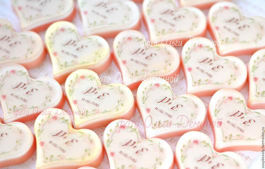 Мыло ручной работы. Ярмарка Мастеров - ручная работа. Купить Персиковая свадьба. Handmade. Бледно-розовый, персиковая свадьба