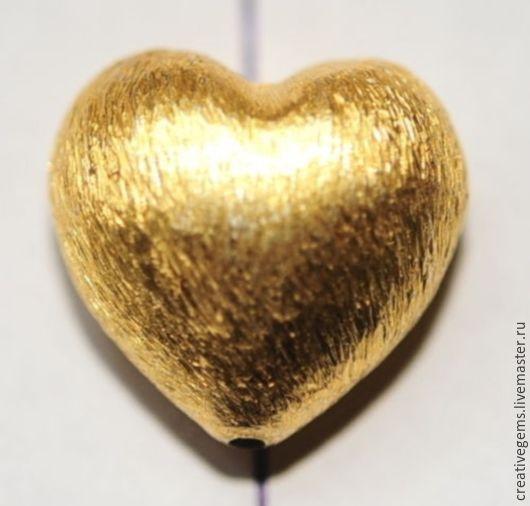 Цена за Артикул 6803 Сердечко позолоченное из меди; Покрытие - золото 999 Купить сердечко позолоченное!