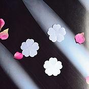 Ткани ручной работы. Ярмарка Мастеров - ручная работа Вырубка шиповник (Сатин) 32 мм. Handmade.