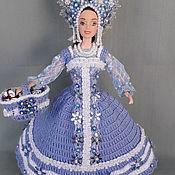 """Одежда для кукол ручной работы. Ярмарка Мастеров - ручная работа Одежда для куклы """"Снегурочка 2020"""". Handmade."""