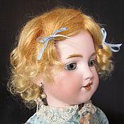 Антикварный мохеровый парик