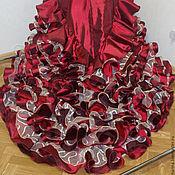 Одежда ручной работы. Ярмарка Мастеров - ручная работа Юбка для фламенко (bata de cola). Handmade.
