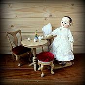 Куклы и игрушки ручной работы. Ярмарка Мастеров - ручная работа Джейн. Мини-кукла в стиле Izannah Walker. Handmade.