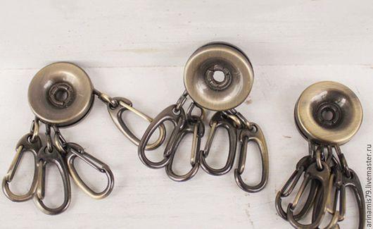 Другие виды рукоделия ручной работы. Ярмарка Мастеров - ручная работа. Купить Фурнитура для ключницы. ключница. бронза.. Handmade.