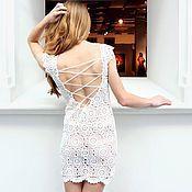 Свадебный салон handmade. Livemaster - original item Short wedding dress. Handmade.