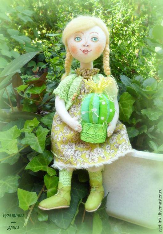 Текстильная кукла домовушка. Купить сказочные персонажи для интерьера. Светлинки от Даши. Ярмарка мастеров.