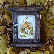"""Для дома и интерьера ручной работы. Ярмарка Мастеров - ручная работа Ключница """"Кролик"""". Handmade."""
