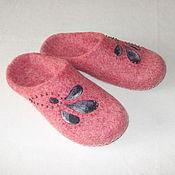 """Обувь ручной работы. Ярмарка Мастеров - ручная работа Тапочки """"Моника"""". Handmade."""