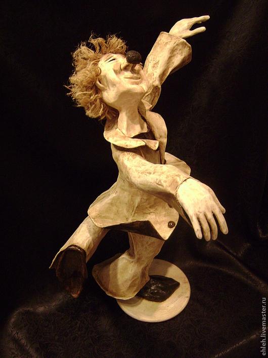 Статуэтки ручной работы. Ярмарка Мастеров - ручная работа. Купить Веселый Клоун. Handmade. Клоун, бумага