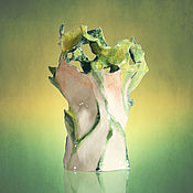 """Для дома и интерьера ручной работы. Ярмарка Мастеров - ручная работа Ваза """"Танец трав"""". Handmade."""